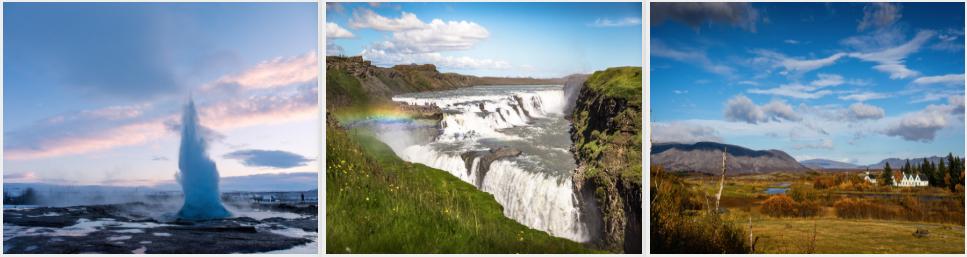 Photo: Geysir, Gullfoss and Thingvellir